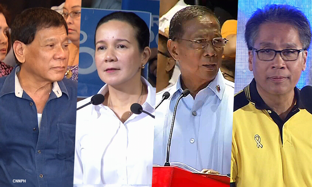 Pulse Asia Research's ABS-CBN Survey on the May 2016 Elections (March 15, 2015 release)